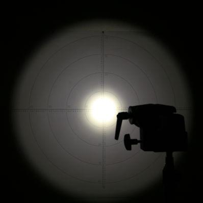 erste versuche den leuchtwinkel von lampen zu messen. Black Bedroom Furniture Sets. Home Design Ideas